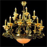 Đèn chùm đồng CĐ 1236-18