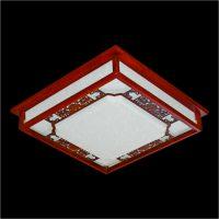 Đèn mâm ốp trần gỗ hufa OTG 02