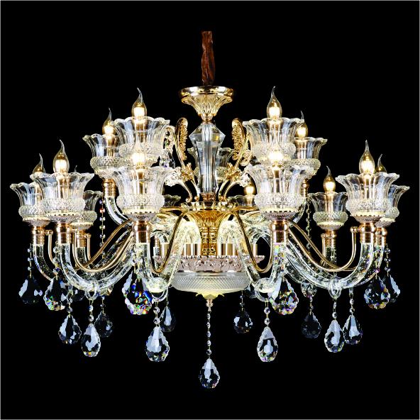 30CN 6605 15 - Cách chọn đèn chùm trang trí cho phòng khách đẹp lung linh.