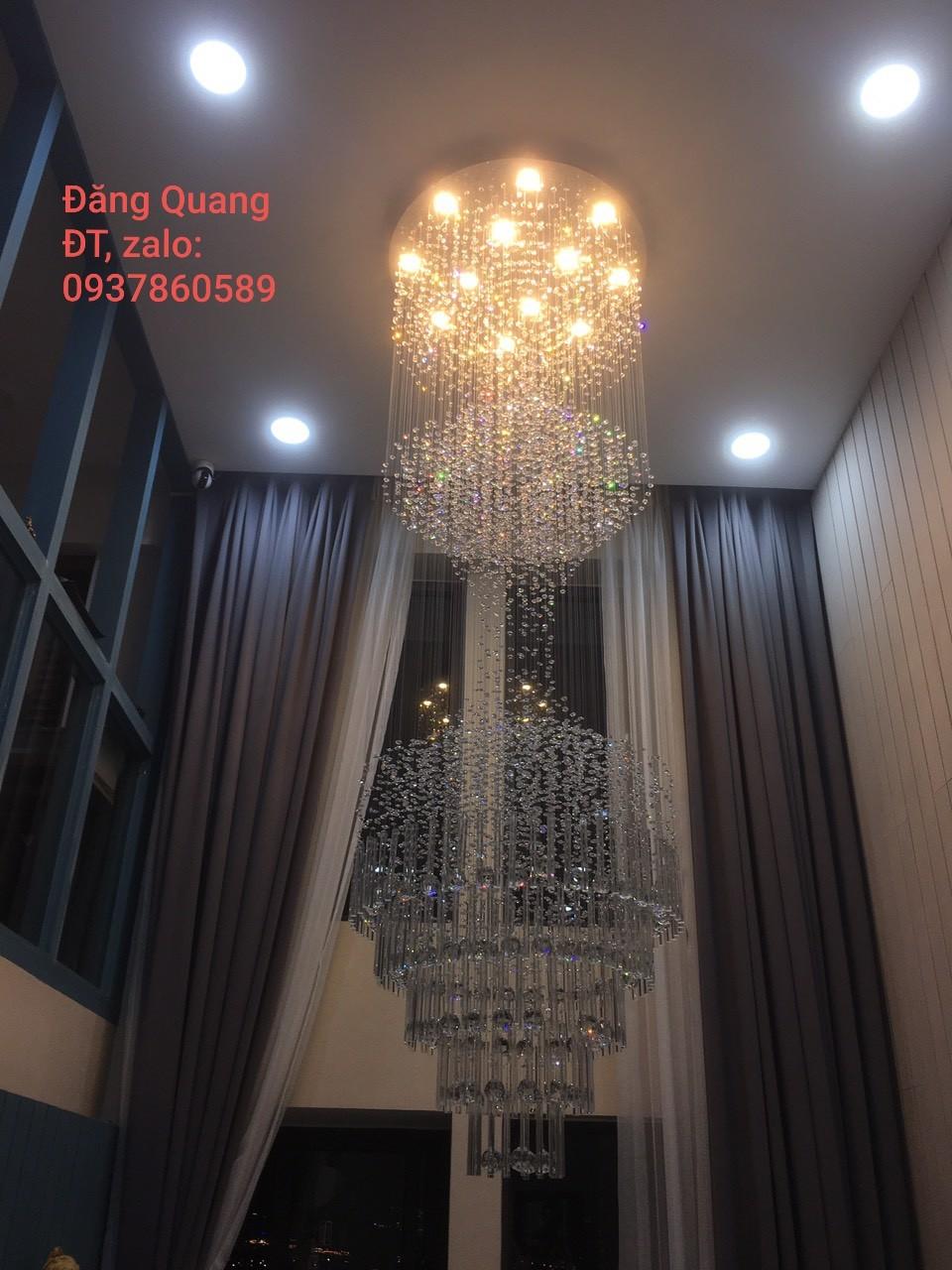den tha pha le FT 6882 12 2 - 10 mẫu đèn đẹp hiện đại thả phòng khách giành cho năm 2020