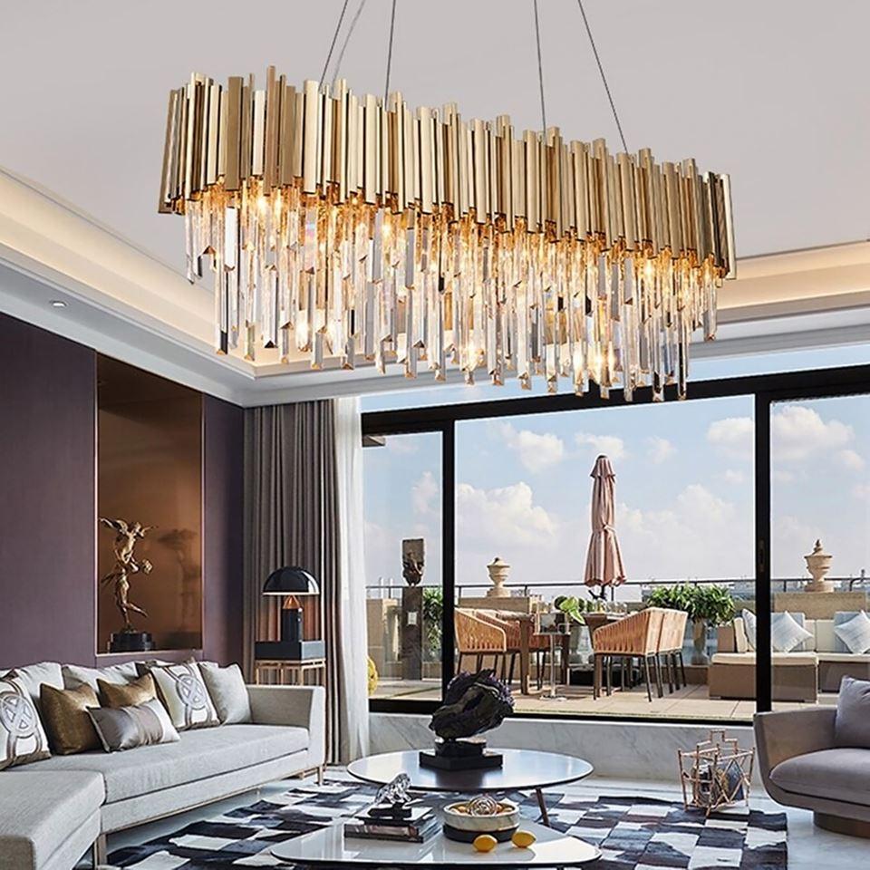 hinh 7 - 10 mẫu đèn đẹp hiện đại thả phòng khách giành cho năm 2020