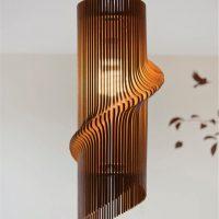 Đèn Trang Trí Gỗ ĐL015