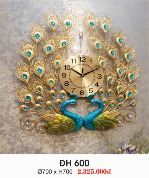 2 - Đồng hồ treo tường đẹp ĐH 679