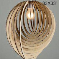 Đèn Trang Trí Gổ ĐL013
