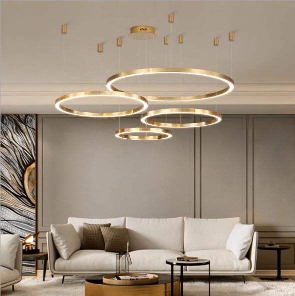 TH 831A 20 - 10 mẫu đèn đẹp hiện đại thả phòng khách giành cho năm 2020