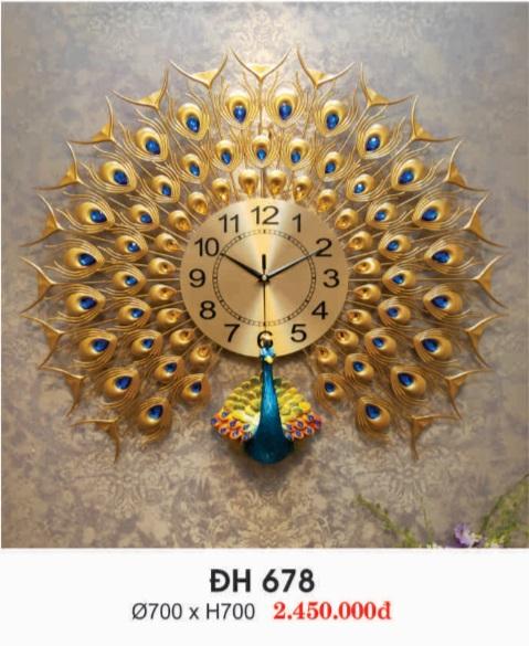 hinh 3 - Đồng hồ treo tường đẹp ĐH 679
