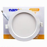 Đèn âm trần Nanoco NSDxxx 6W, 9W, 12W