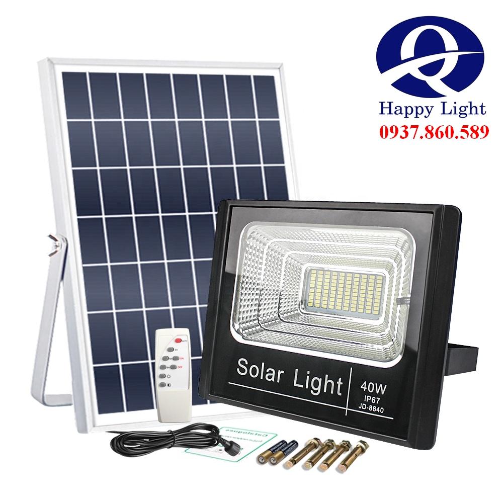 Den nang luong mat troi 5 1 - Đèn năng lượng mặt trời JD 25W đến 200W