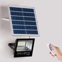 Đèn led pha năng lượng mặt trời (60W, 100W, 200W)