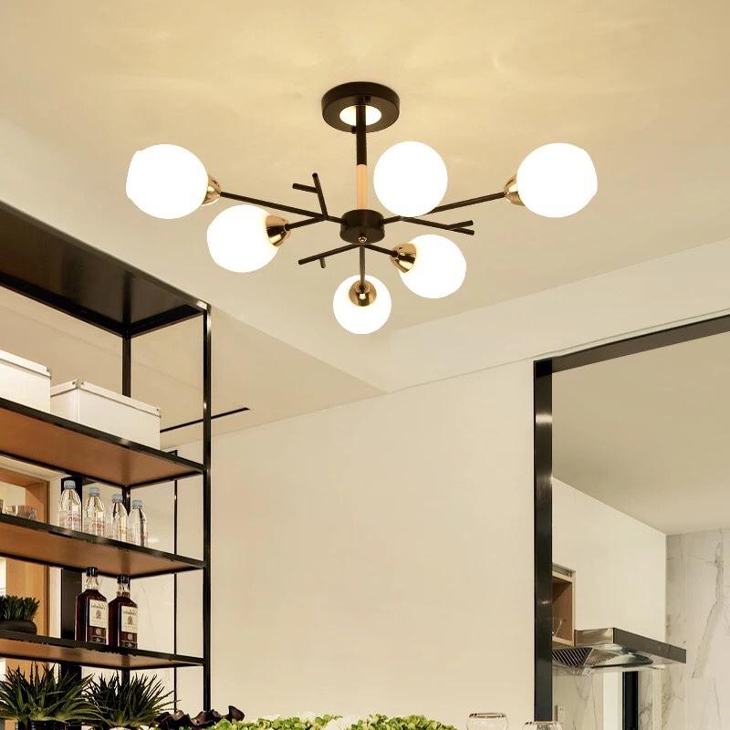 den tha hien dai 13 2 - 10 mẫu đèn đẹp hiện đại thả phòng khách giành cho năm 2020