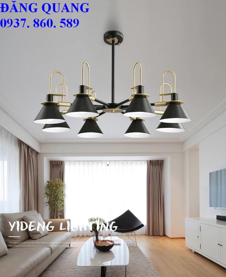 den tha hien dai TTK.91 8 - 10 mẫu đèn đẹp hiện đại thả phòng khách giành cho năm 2020