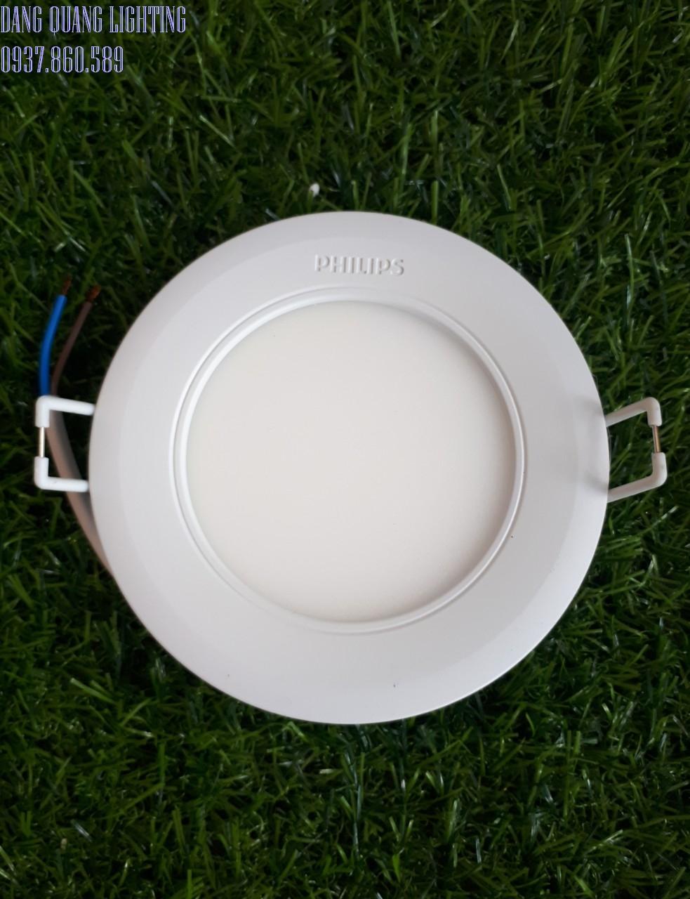 n âm trần Philips Marcasite 4 - Đèn âm trần Philips Marcasite 9W đến16 W