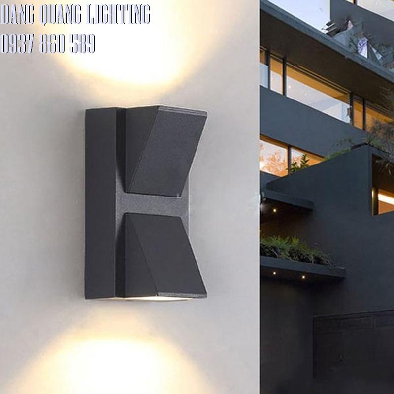 den gan tuong vnt 613 - Đèn gắn tường 2 đầu VL8137/bk